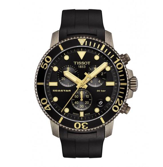 Reloj Tissot Seastar 1000 Cronógrafo T120.417.37.051.01 de Cuarzo para hombre