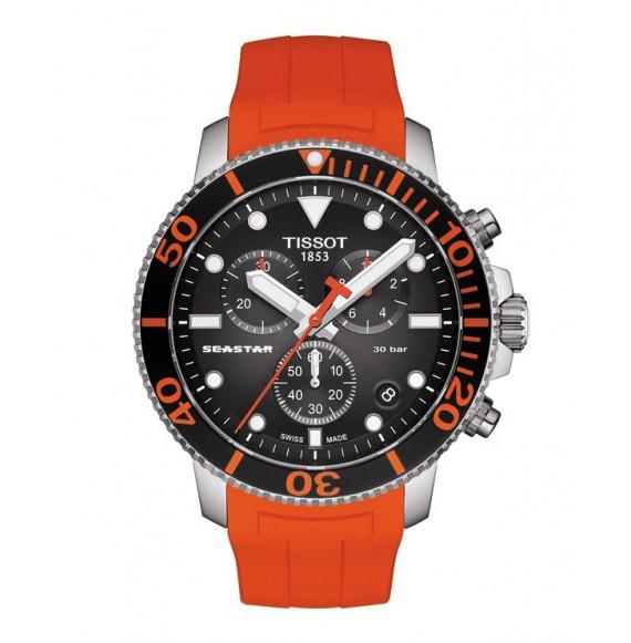 Reloj Tissot T-Sport Seastar 1000 Cronógrafo T120.417.17.051.01 de Cuarzo para hombre