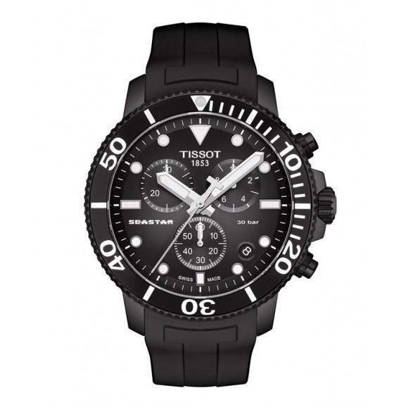 Reloj Tissot Seastar 1000 Cronógrafo T120.417.37.051.02 de Cuarzo para hombre