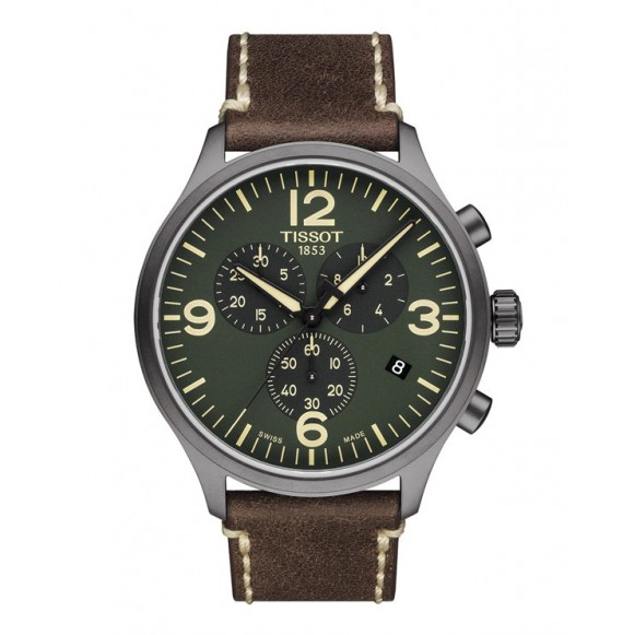 Reloj Tissot T-Sport Chrono XL T116.617.36.097.00 Cuarzo de acero para hombre