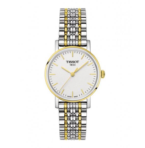 Reloj Tissot Everytime Small T109.210.22.031.00 Cuarzo de acero para mujer