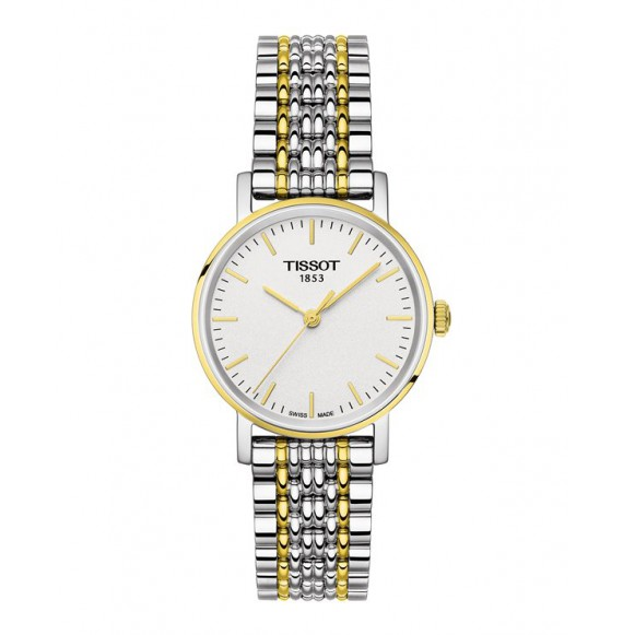 Reloj Tissot T-Classic Everytime Small T109.210.22.031.00 Cuarzo de acero para mujer