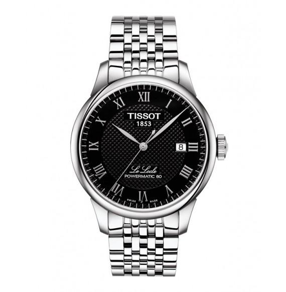 Reloj Tissot T-Classic Le Locle Powermatic 80 T006.407.11.053.00 Automático de acero para hombre