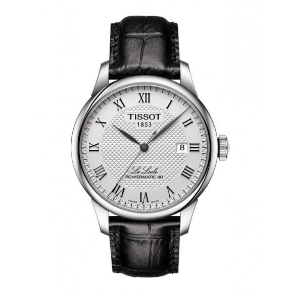 Reloj Tissot T-Classic Le Locle Powermatic 80 T006.407.16.033.00 Automático de acero para hombre