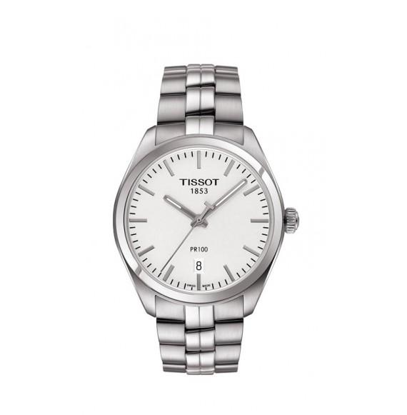 Reloj Tissot T-Classic PR 100 T101.410.11.031.00 Cuarzo de acero para hombre