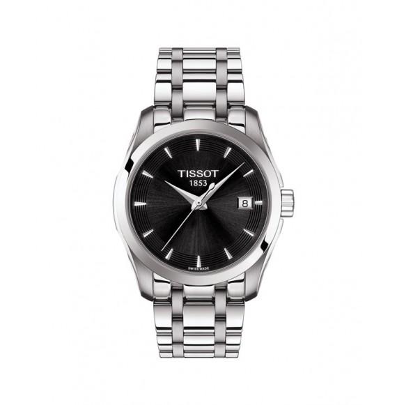 Reloj Tissot Couturier Lady T035.210.11.051.01 Cuarzo de acero para mujer