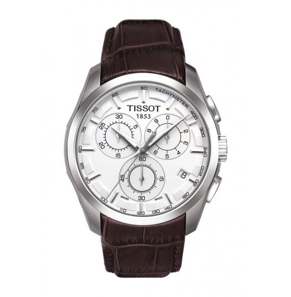 Reloj Tissot Couturier Chronograph T035.617.16.031.00 Cuarzo de acero para hombre