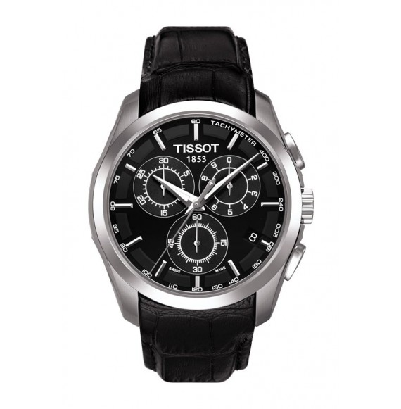 Reloj Tissot Couturier Chronograph T035.617.16.051.00 Cuarzo de acero para hombre