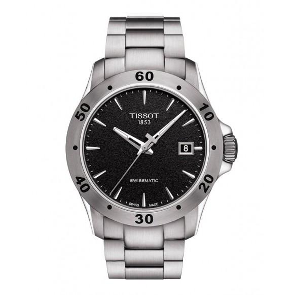 Reloj Tissot V8 Swissmatic T106.407.11.051.00 Automático de acero para hombre