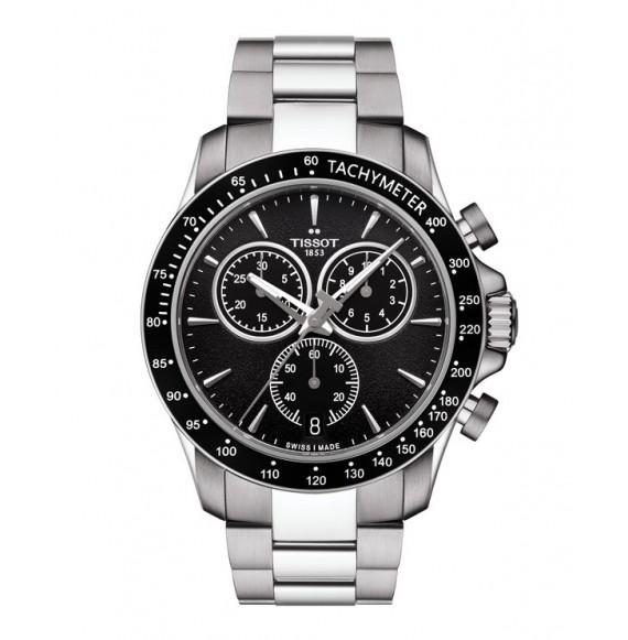 Reloj Tissot V8 Quartz Chronograph T106.417.11.051.00 de acero para hombre