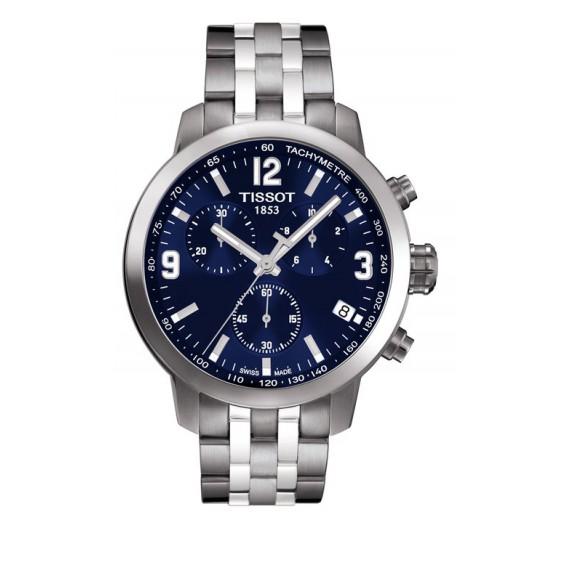Reloj Tissot PRC 200 Chronograph T055.417.11.047.00 Cuarzo de acero para hombre