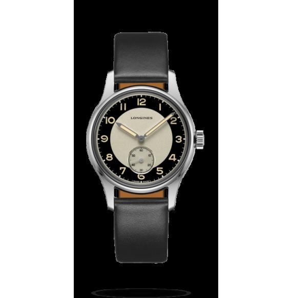 reloj Longines Heritage Classic  L2.330.4.93.0 automático de acero para hombre