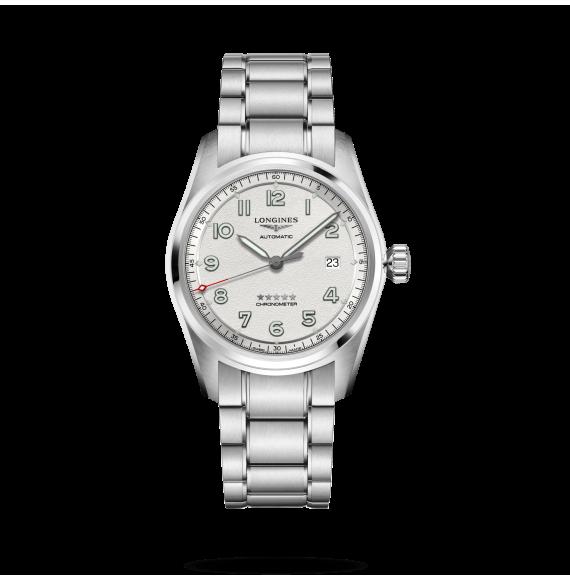 Reloj Longines Spirit L3.810.4.73.6 automático de acero para hombre
