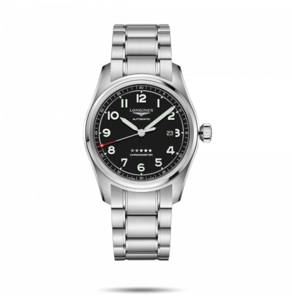 Reloj Longines Spirit L3.811.4.53.6 automático de acero para hombre
