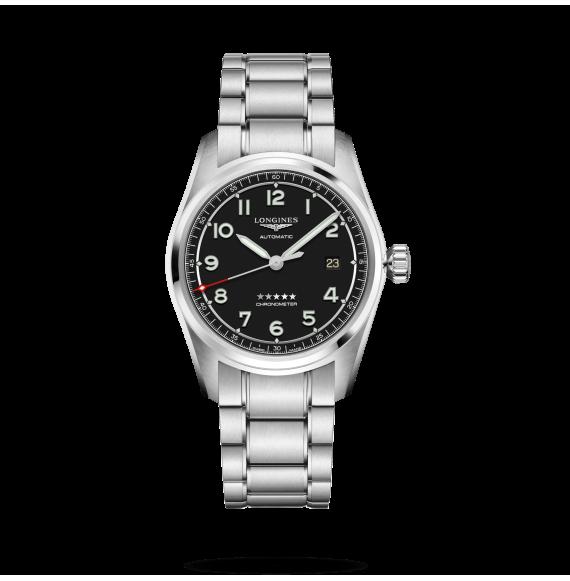 Reloj Longines Spirit L3.810.4.53.6 automático de acero para hombre