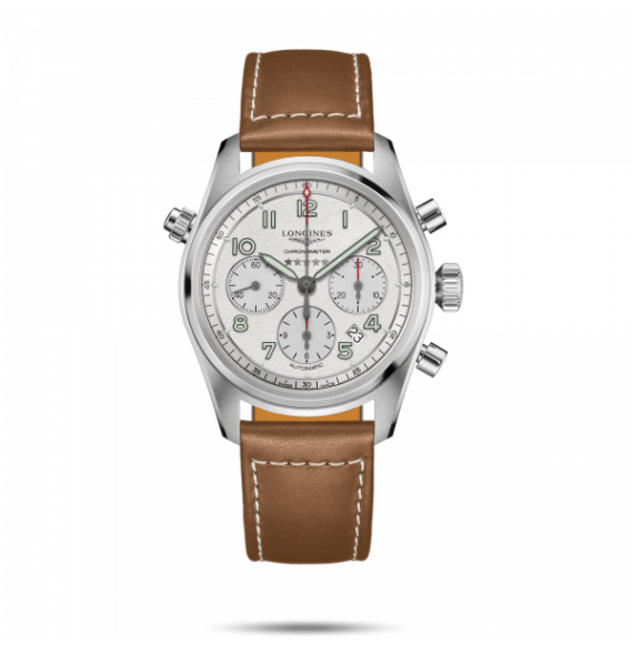 Reloj Longines Spirit L3.820.4.73.2 automático con cronógrafo para hombre