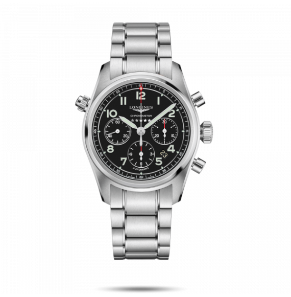 Reloj Longines Spirit L3.820.4.53.6 automático con cronógrafo para hombre