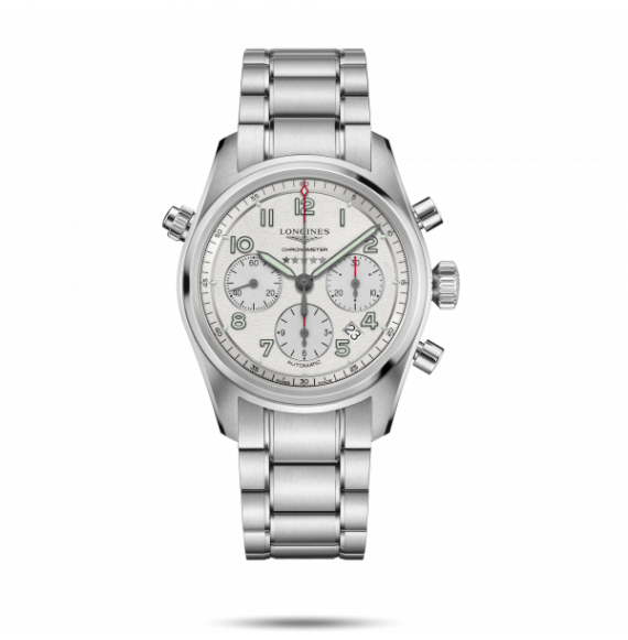 Reloj Longines Spirit L3.820.4.73.6 automático con cronógrafo para hombre