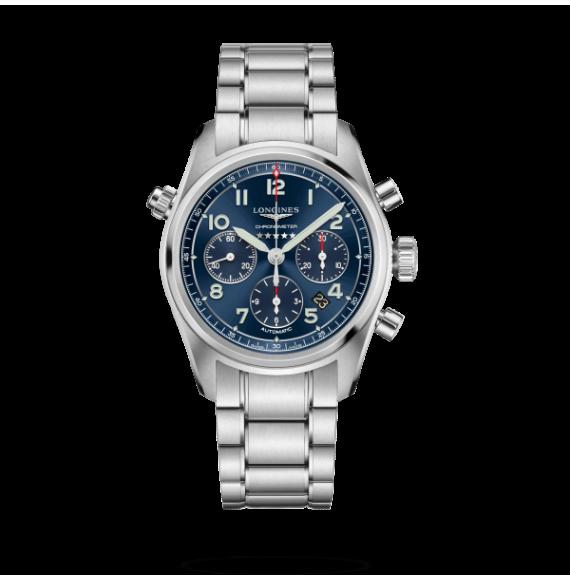 Reloj Longines Spirit L3.820.4.93.6.6 automático con cronógrafo para hombre