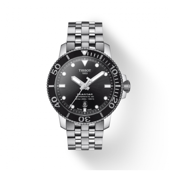 Reloj Tissot T-Sport Seastar 1000 Powermatic 80 T120.407.11.051.00 Automático para hombre