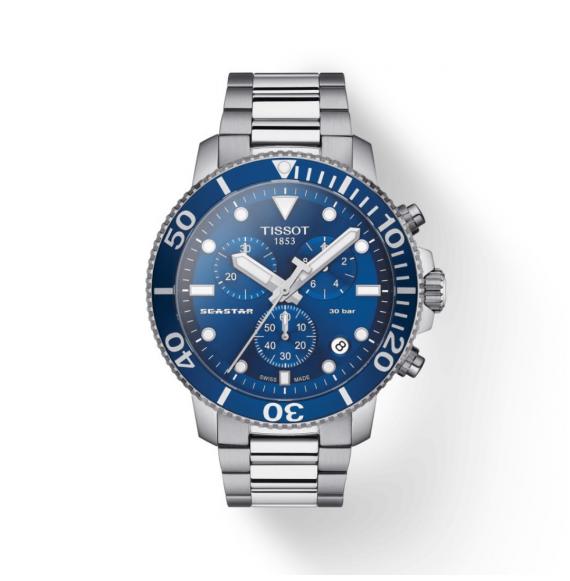 Reloj Tissot Seastar 1000 Cronógrafo T120.417.11.041.00 de Cuarzo para hombre