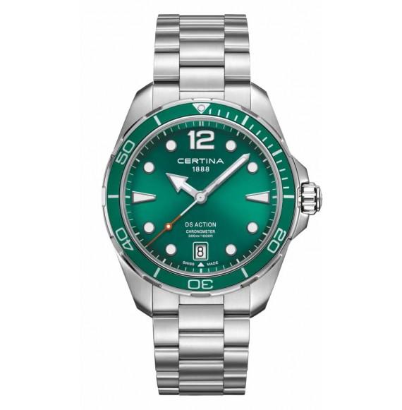 Reloj Certina DS Action C032.451.11.097.00 cuarzo de acero para hombre
