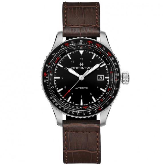 Reloj Hamilton Khaki Aviation Converter Auto H76615530 de acero para hombre