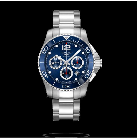 Reloj Longines Hydroconquest L3.883.4.96.6 automático con cronógrafo para hombre