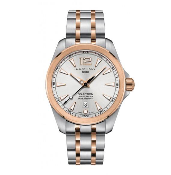 Reloj Certina DS Action C032.851.22.037.00 cuarzo con cronómetro para hombre