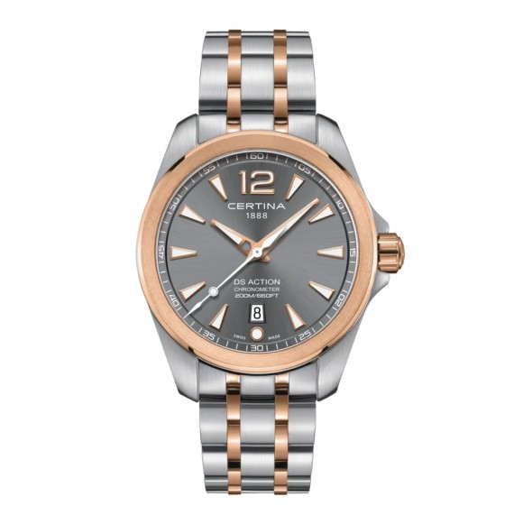 Reloj Certina DS Action C032.851.22.087.00 cuarzo con cronómetro para hombre
