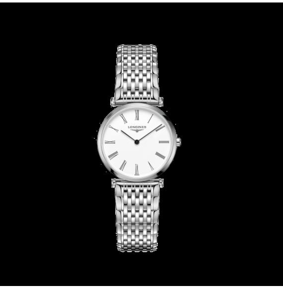 Reloj Longines La Grande Classique L4.512.4.11.6 cuarzo de acero para mujer