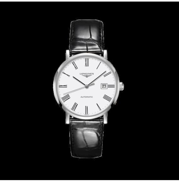 Reloj Longines Elegant Collection L4.910.4.11.2 automático de acero para hombre