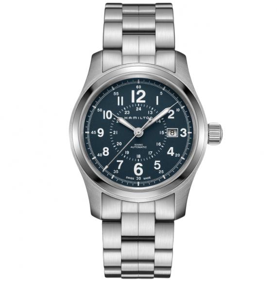 Reloj Hamilton Khaki Field Auto H70605143 de acero para hombre