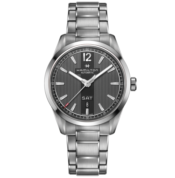 Reloj Hamilton Broadway Day Date Auto H43515135 de acero para hombre