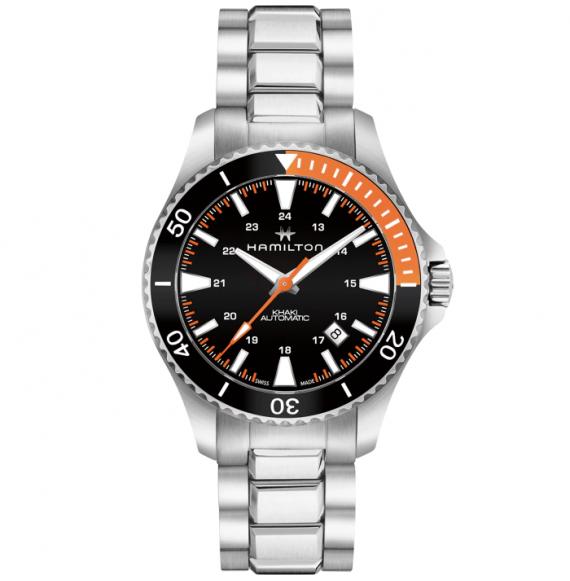 Reloj Hamilton Khaki Navy Scuba Auto H82305131 de acero para hombre