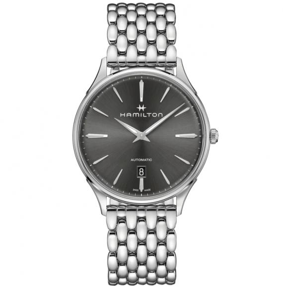 Reloj Hamilton Jazzmaster Thinline Auto H38525181 de acero para hombre