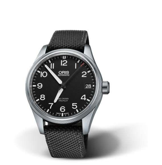 Reloj Oris Big Crown ProPilot Big Date 017517694164-072015FC Automático de tela para hombre