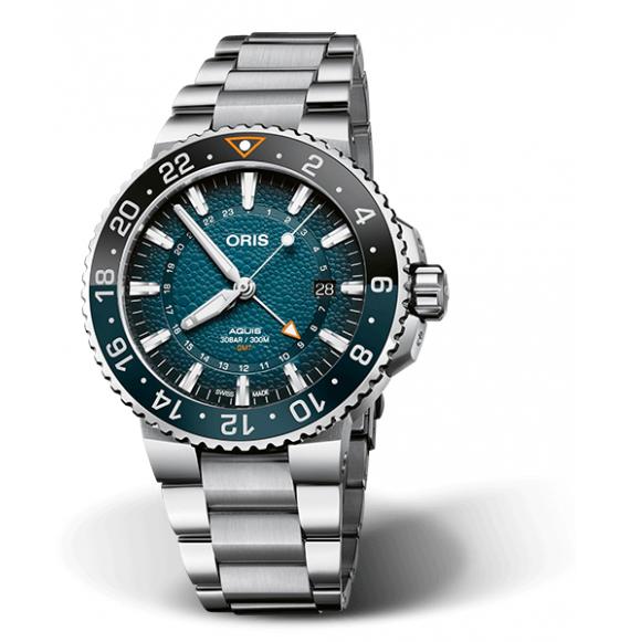 Reloj Oris Whale Shark Limited Edition 01 798 7754 4175-Set automático de acero para hombre