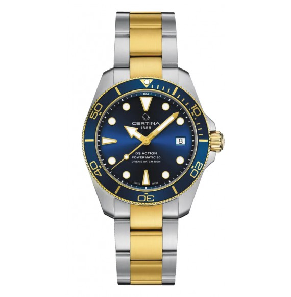 Reloj Certina DS Action Diver Sea Turtle Conservancy Special Edition C032.807.22.041.10 automático de acero para hombre