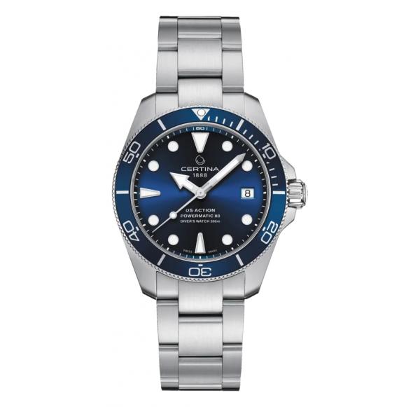 Reloj Certina DS Action Diver C032.807.11.041.00 automático de acero para hombre
