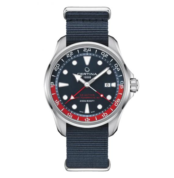 Reloj Certina DS Action GMT C032.429.18.041.00 automático de acero para hombre