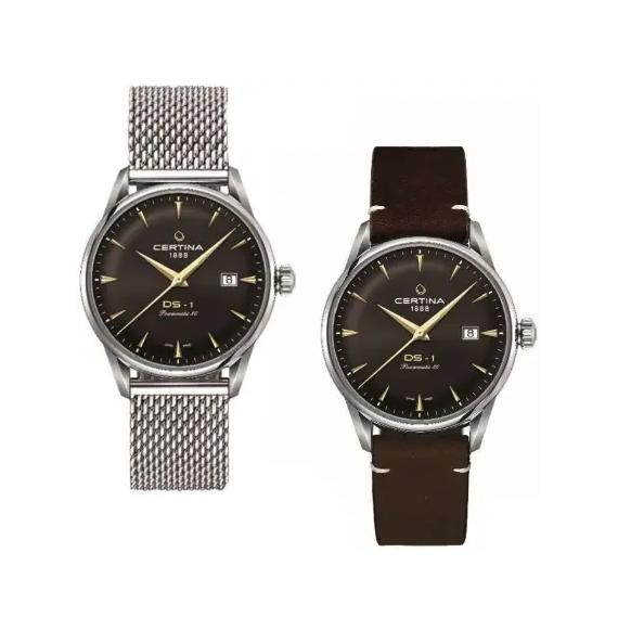 Reloj Certina DS 1 Powermatic 80 C029.807.11.291.02 automático para hombre