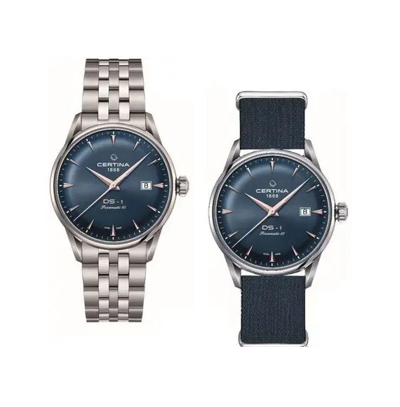 Reloj Certina DS 1 Powermatic 80 C029.807.11.041.02 automático para hombre