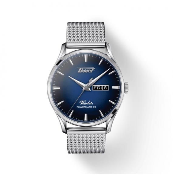 Reloj Tissot Heritage Visodate Powermatic 80 T118.430.11.041.00 de acero para hombre