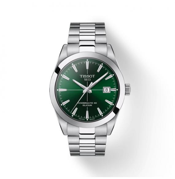 Reloj Tissot T-Classic Gentleman Powermatic 80 Silicium T127.407.11.091.01 de acero para hombre