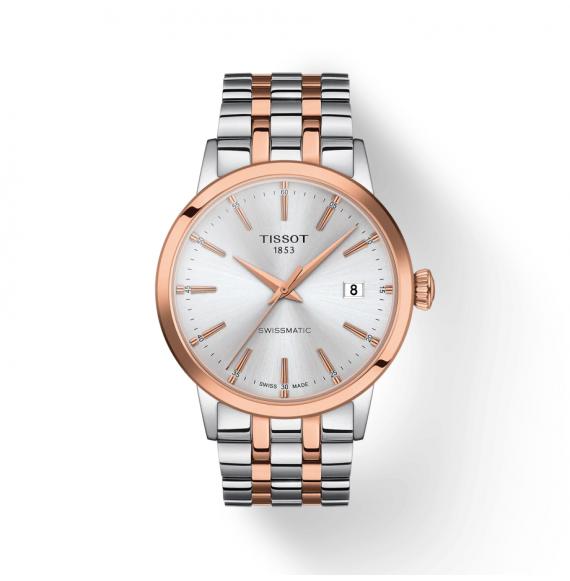 Reloj Tissot T-Classic Dream Swissmatic T129.407.22.031.00 automático de acero para hombre