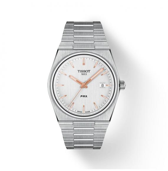 Reloj Tissot T-Classic PRX T137.410.11.031.00 cuarzo de acero para hombre