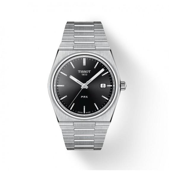 Reloj Tissot T-Classic PRX T137.410.11.051.00 cuarzo de acero para hombre