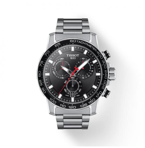 Reloj Tissot T-Sport Supersport Chrono T125.617.11.051.00 cuarzo de acero para hombre