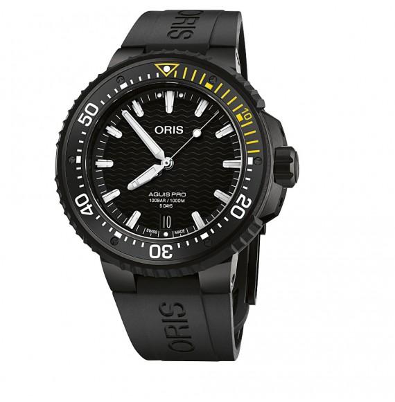 Reloj Oris AquisPro Date Calibre 400 01 400 7767 7754-07 426 64BTEB automático de acero para hombre